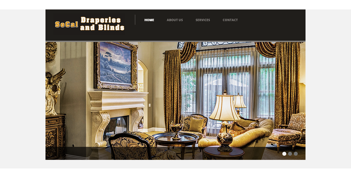 The Web Handlers Portfolio SoCal Draperies and Blinds