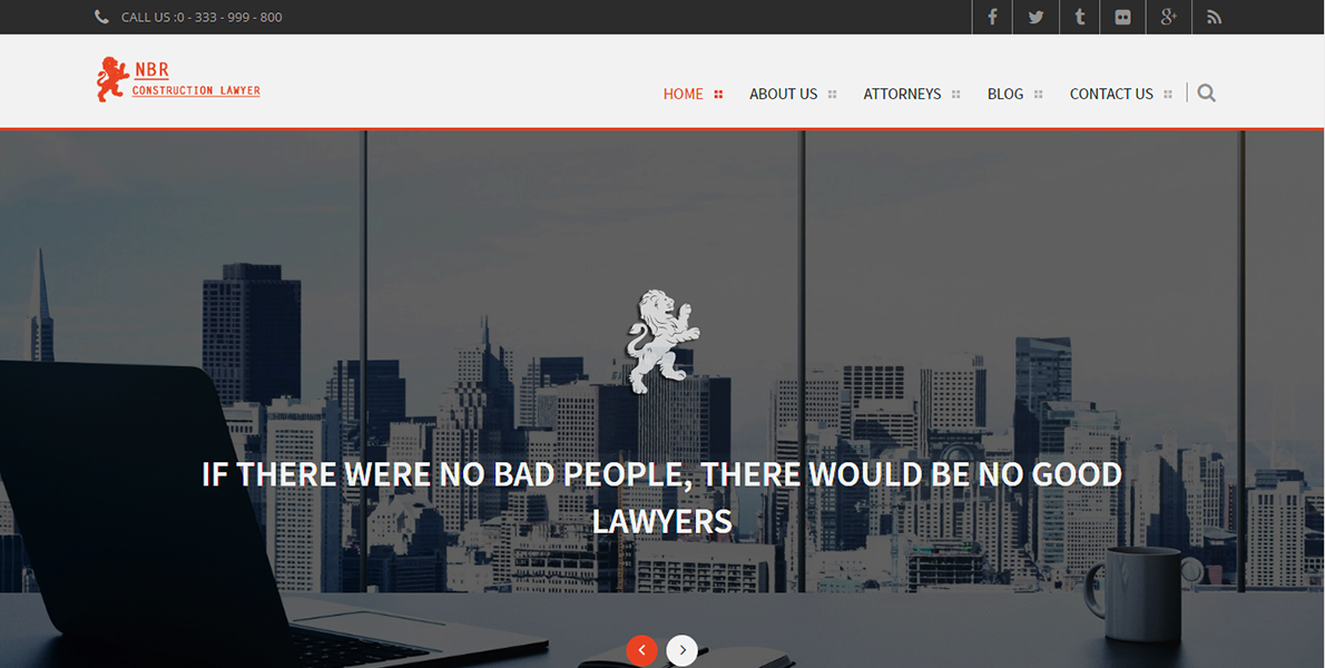 Web Handlers Portfolio NBR Construction Lawyers
