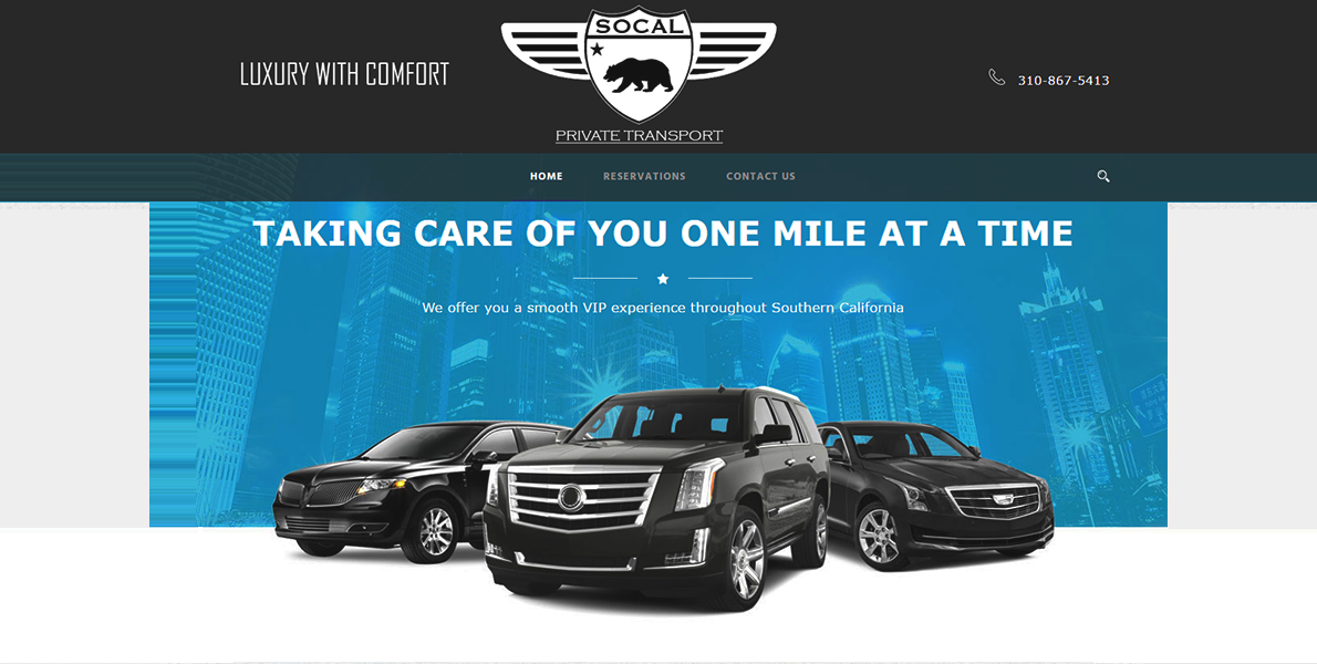 Web Handlers Portfolio Socal Private Transport